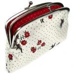 Large Coin purse - metal fr..
